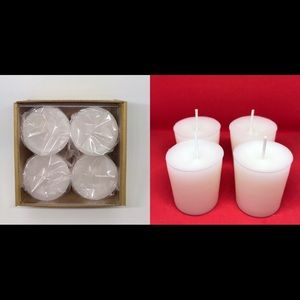 New 4 pack scented votives (Scents P)
